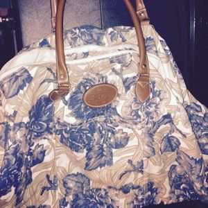 3 for 20/Blue/Taupe Floral M Sport  HOBO Beach bag